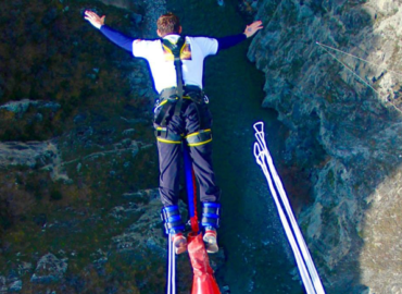 Nevis Bungy Jump – Queenstown, New Zealand